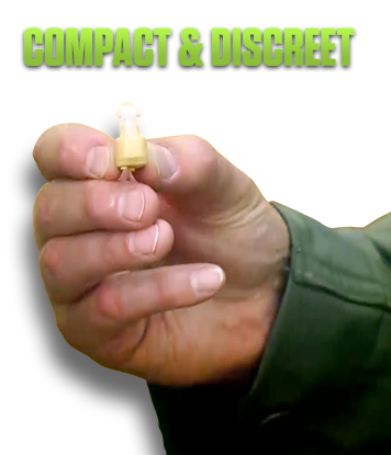 Compact and discreet